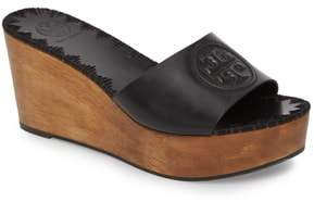 Tory Burch Patty Logo Platform Wedge Sandal