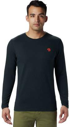 Mountain Hardwear Logo Long-Sleeve T-Shirt - Men's
