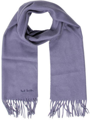 Paul Smith Cashmere Fringed Scarf $85 thestylecure.com