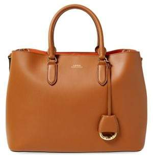 Lauren Ralph Lauren Marcy Leather Satchel