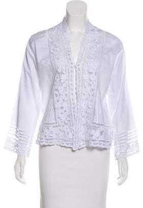 Natalie Martin Embellished Lightweight Jacket