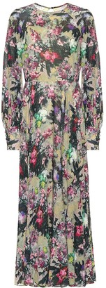 Rotate by Birger Christensen Floral maxi dress