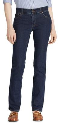Ralph Lauren Straight Leg Jeans in Rinse