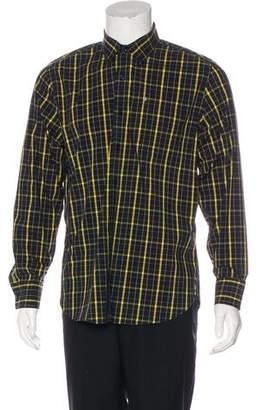 Victorinox Plaid Button-Up Shirt