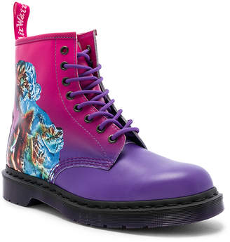 Dr. Martens x New Order 1460 Technique in Pink | FWRD