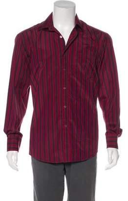 Paul Smith Silk-Blend Button-Up Shirt