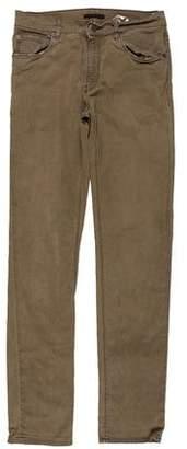 Prada Woven Skinny Pants