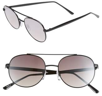BP 51mm Oval Aviator Sunglasses