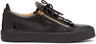 Giuseppe Zanotti Frankie leather low-top trainers