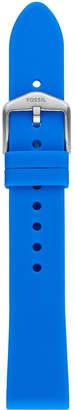 Fossil Unisex Sport Ocean Blue Silicone Smart Watch Strap