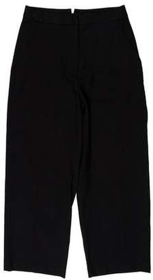 La Garçonne Moderne Wool High-Rise Pants