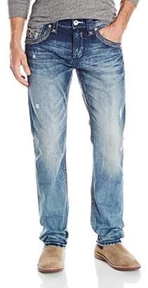 Rock Revival Men's Diji J206 Straight Leg Jean