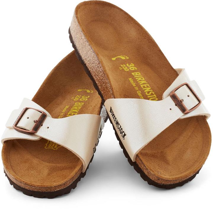Birkenstock Zest Foot Forward Sandal in Pearl