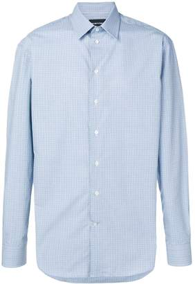 Emporio Armani casual dotted shirt