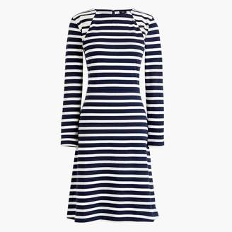 J.Crew Tall 365 knit fit-and-flare dress in stripe
