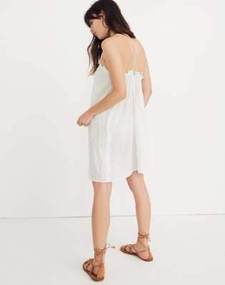 Tulum Cover-Up Dress in Stripe