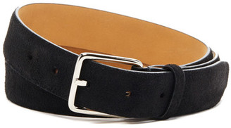 Cole Haan Feather Edge Suede Belt $68 thestylecure.com