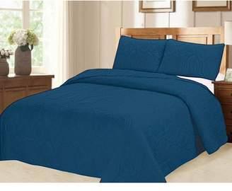 Verno Ocean Star Oversized Bedspread Set with Shams