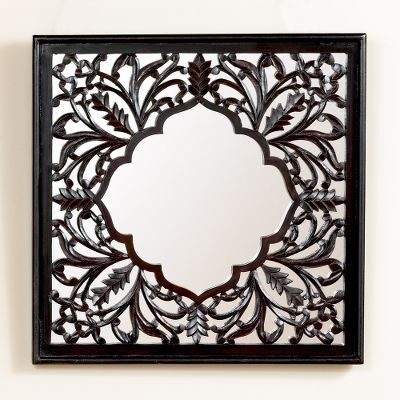 Casablanca Carved Mirror