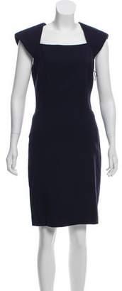 J. Mendel Wool Knee-Length Dress