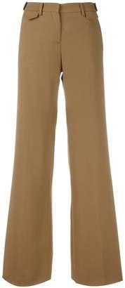 No.21 welt pocket palazzo pants
