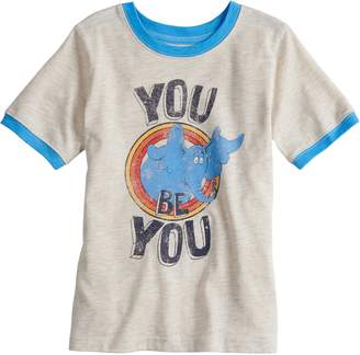 "Dr. Seuss Boys 4-10 Jumping Beans Horton ""You Be You"" Tee"