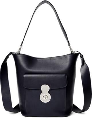 Ralph Lauren Calfskin RL Bucket Bag