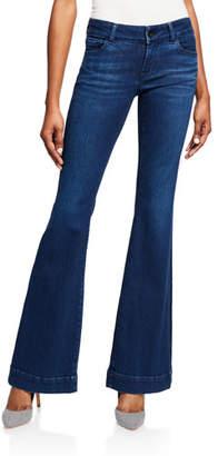 J Brand Lovestory Low-Rise Flare Jeans