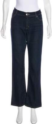 Max Mara Weekend Mid-Rise Straight-Leg Jeans