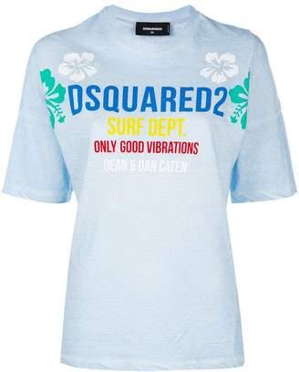DSQUARED2 surf school T-shirt