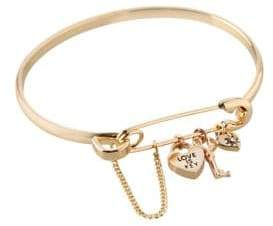 BCBGeneration Love Is Key Charm Bangle Bracelet