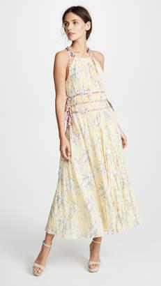 Rebecca Taylor Lemon Pleat Dress