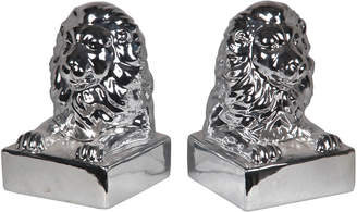 Privilege Set Of 2 Lion Head Bookends