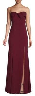 Jay Godfrey Cambridge Front-Twist Gown