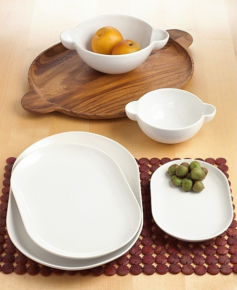 Sagaform Tapas Oval Serving Tray, Large