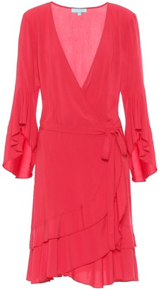 Melissa Odabash Kirsty mini wrap dress