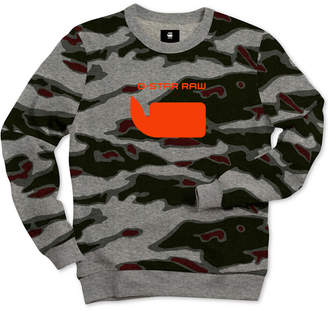 G Star Men Sverre Camo Sweatshirt