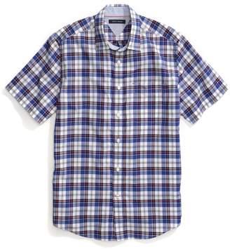 Tommy Hilfiger Regular Fit Short-Sleeve Plaid Shirt