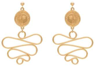 MeDusa Holly Ryan gold-plated Picasso earrings
