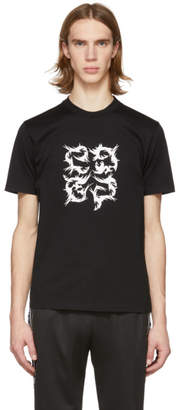 Givenchy Black 4G Slim Fit T-Shirt