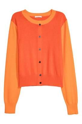 H&M Cotton Cardigan - Orange - Women