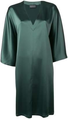 Gianluca Capannolo sheen oversized dress