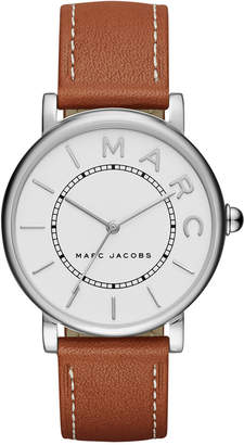 Marc Jacobs Women's Roxy Tan Leather Strap Watch 36mm