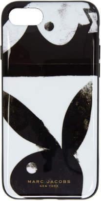Marc Jacobs (マーク ジェイコブス) - Marc Jacobs ブラック & ホワイト iPhone 8 ケース