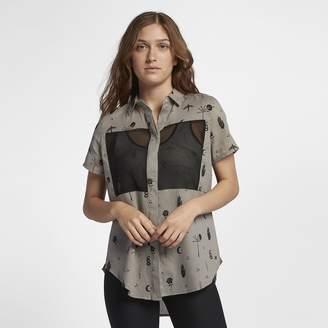 Hurley Wilson Mesh Port Women's Short Sleeve Shirt