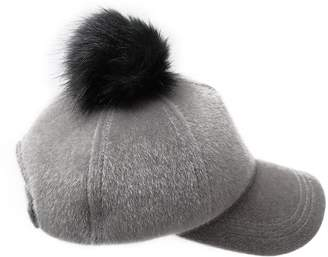 8886ad6d911 at Amazon Canada · Lawliet Unisex Faux Fur Pom Pom Cap Baseball Suede  Adjustable A410