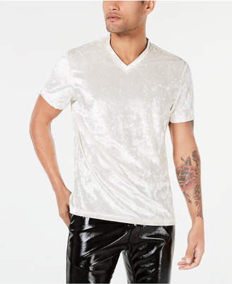 INC International Concepts I.n.c. Men's Velvet V-Neck T-Shirt