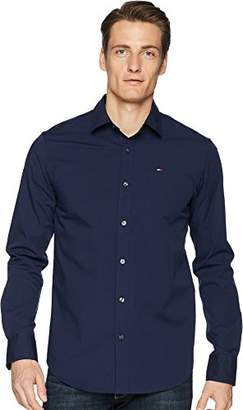 Tommy Hilfiger Men's Button Down Shirt Original Stretch