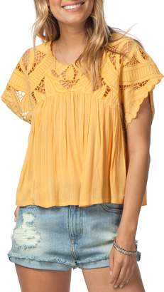 Rip Curl Seaview Cutwork Top