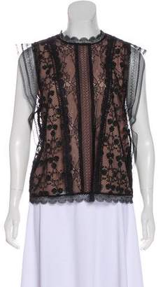 Alexis Lace Sleeveless Top